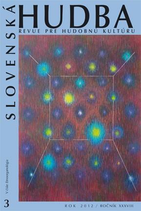 3/2012: Etnoorganológia