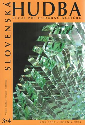 3-4/2005: Tradícia – inovácia – modernosť