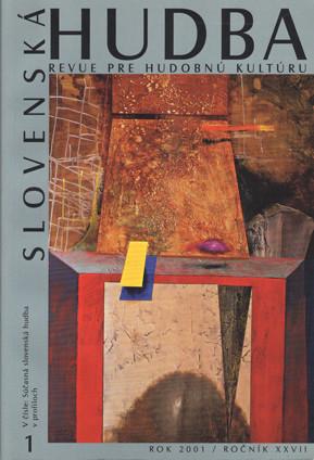 1/2001: Súčasná slovenská hudba  v profiloch